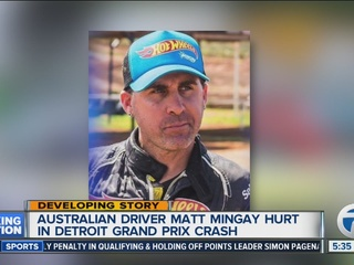 Driver injured during Grand Prix still improving