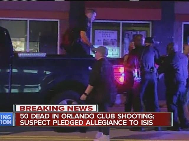 50 killed in deadliest mass shooting in US at Orlando nightclub