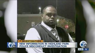 Highland Park cop once faced assault allegations