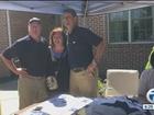 Harbaugh, UM football help ChadTough garage sale