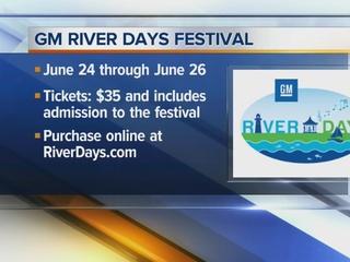 GM River Days gets underway today