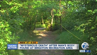Police: Death of man in state park is mysterious