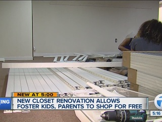 Foster Closet of Washtenaw Co. gets renovation
