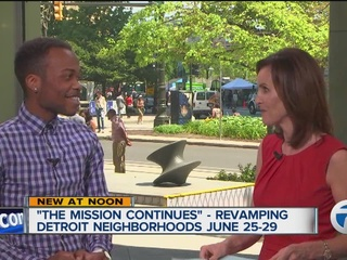 Veterans improving neighborhoods