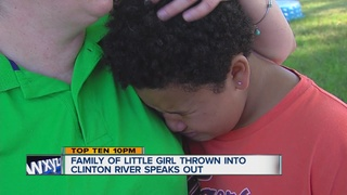 Mom: Daughter who was thrown in river can't swim