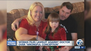 Woman sues doctor for 'wrongful conception'