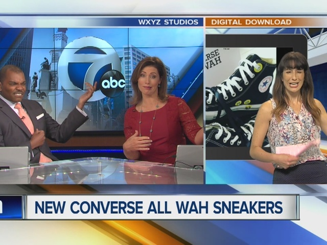 Converse releases sneaker with a built in wah wah foot pedal