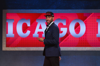 Valentine drafted 14th overall by Chicago Bulls
