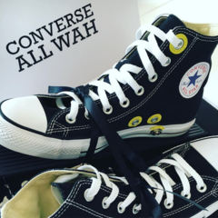 Converse sneakers have built-in wah pedal