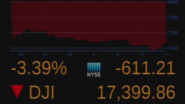 Stocks crash after UK vote shocks investors