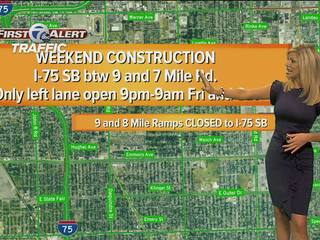 TRAFFIC: Local weekend construction report
