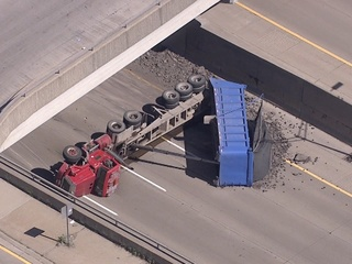 EB I-696 at Greenfield reopen after crash