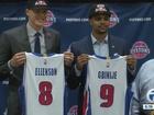 Pistons introduce Ellenson, Gbinije