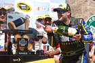 Tony Stewart earns first win in three years