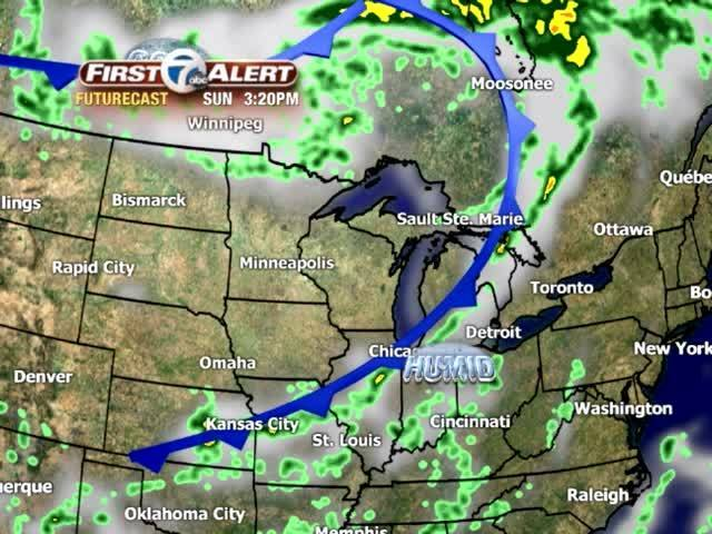 FORECAST: Storms could rumble late