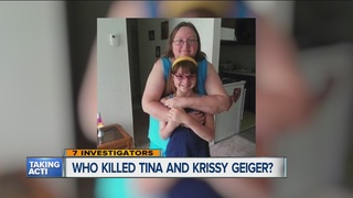 Who killed a Clinton Township mother & daughter?