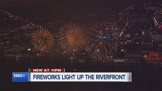 Ford Fireworks leave Detroiters delighted