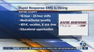 Rapid Response EMS is hiring
