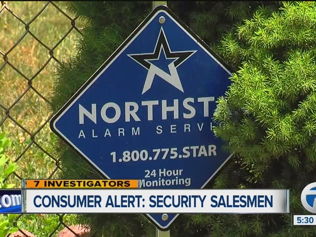 Consumer Alert: Home security companies'