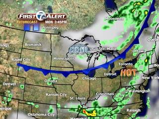 FORECAST: Cooler weather arrives