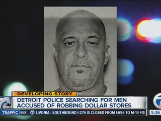 Pair of suspects targeting Detroit dollar stores