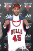 Valentine to wear Jordan's old number with Bulls