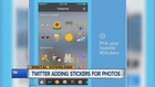 Stickers, new visual search coming to Twitter