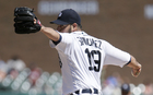 Tigers move Sanchez back to bullpen