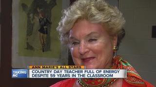 Teacher still going strong after 59 years