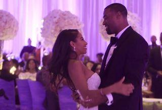 Check out Calvin Johnson's wedding video