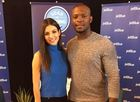 Victoria Justice joins Upton to boost reading
