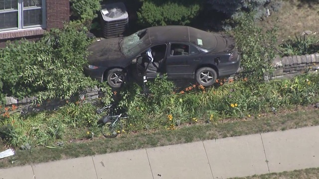 Two bicyclists hit in serious car accident