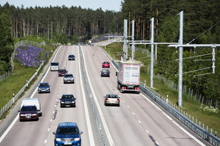 Sweden opens electric highway in central city