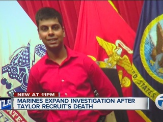 Bombshell in death of Taylor Marine recruit