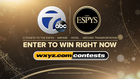 Win a trip to the ESPY Awards in Los Angeles