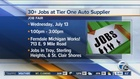 Auto supplier is hiring in metro Detroit