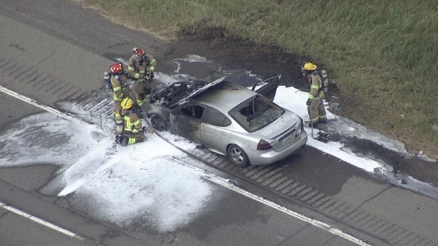 Car fire causes major traffic issues on NB I-75
