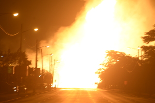 PHOTOS: Massive gas line explosion in Melvindale