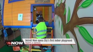 Detroit mom opens city's first indoor playground