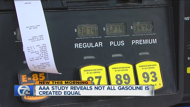 AAA study: Cheaper gas can damage engines, lower fuel economy