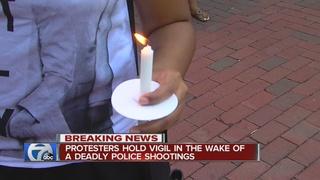 Fatal police shootings reaction reaches Detroit