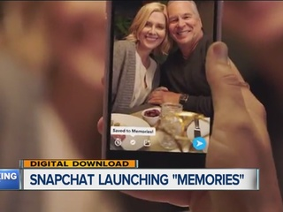 New Memories feature coming to Snapchat