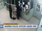Warren cop who cut woman's hair under fire again