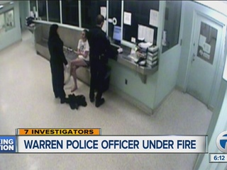Warren cop who cut woman's hair under fire again