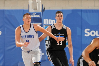 Magic edge Pistons in Summer League title game