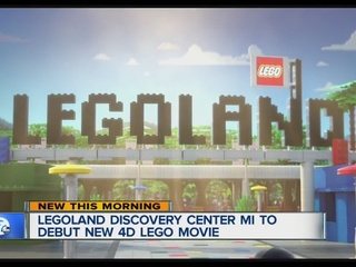 Legoland MI to debut new 4D Lego Movie