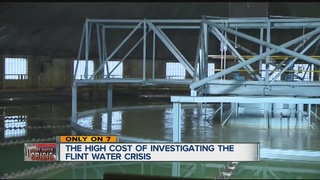 High price of investigating Flint water crisis