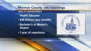 3 job openings in Monroe County