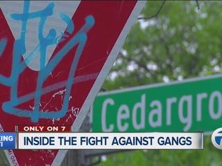 Inside the fight against Detroit gang violence