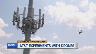 AT&T exploring different ways to use drones
